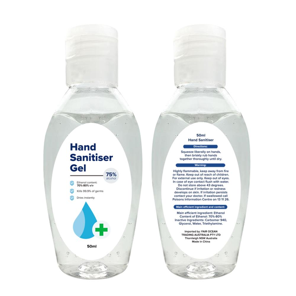 50ml Hand Sanitiser Gel