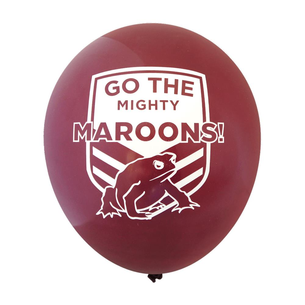 State of Origin, 'Go The Mighty' Balloons (30cm, 25pk)